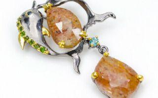 Серебряные украшения с натуральными камнями: как правильно ухаживать за серебром и сапфиром?