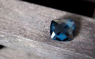 Огранка камня бриолет