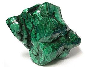 полудрагоценный камень малахит