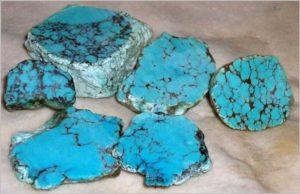 Фото камень бирюза из Аригоны