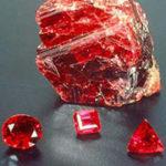Рубин камень фото