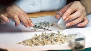 сортировка якутских алмазов