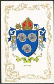 герб с аммонитами города Уитби Великобритании