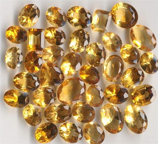 камень цитрин фото