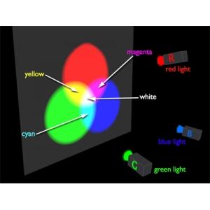 три цвета, которые воспринимает человеческий глаз