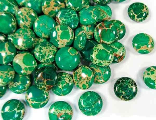 яшма зеленая