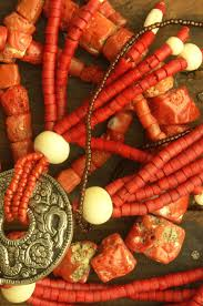 украшения из коралла старинные