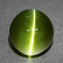 зеленый кошачий глаз камень
