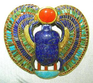 жук-скарабей египет