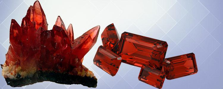 гиацинт необработанный и обработанный