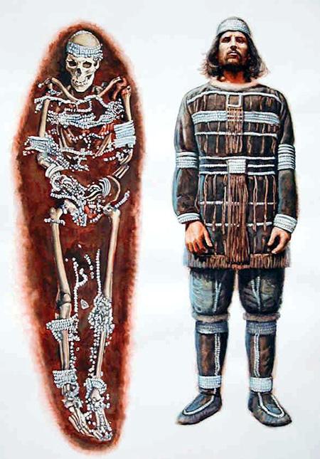 русский 30-40 тыс.лет до н.э.