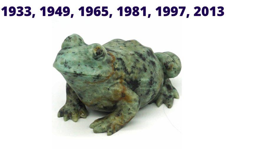 годы бородатой жабы