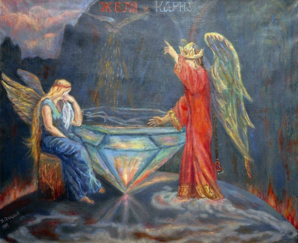 Славянская богиня Желя